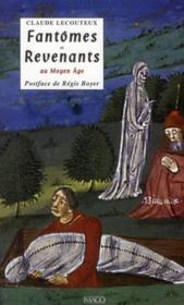 Fantômes et revenants au Moyen Age - Couverture - Format classique