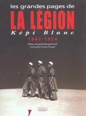 Grandes pages de la legion - kepi blanc - Intérieur - Format classique