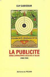 La publicité dans l'armurerie liégeoise et belge - Intérieur - Format classique