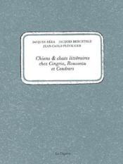 Chiens Et Chats Litteraires - Couverture - Format classique