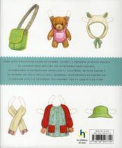 Petites choses à coudre ; 20 accessoires et jouets classiques pour enfants - 4ème de couverture - Format classique