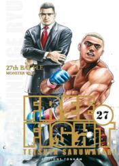 Free fight t.27 - Couverture - Format classique