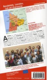 Guide Du Routard ; Bordelais, Landes, Lot-Et-Garonne (Edition 2012) - 4ème de couverture - Format classique