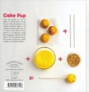 Pop cakes - 4ème de couverture - Format classique