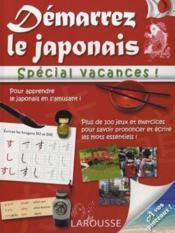 Démarrez le japonais ; spécial vacances - Couverture - Format classique