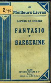 Fantasio - Barberine - Couverture - Format classique