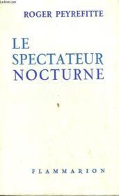 Le Spectateur Nocturne. - Couverture - Format classique