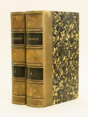 Georgius Cedrenus Ioannis Scylitzae Ope (2 Tomes - Complet). ab Immanuele Bekkero suppletus et emendatus [ Synopsis historion - Compendium historiarum ] - Couverture - Format classique