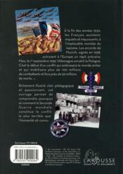 La Seconde Guerre mondiale - 4ème de couverture - Format classique