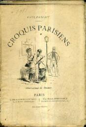 Croquis Parisiens. - Couverture - Format classique