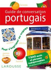 Guide de conversation portugais - Couverture - Format classique