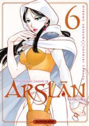 The heroic legend of Arslan T.6 - Couverture - Format classique