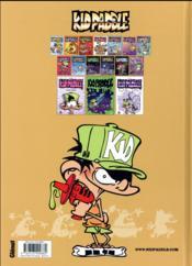 Kid Paddle T.15 ; men in blork - 4ème de couverture - Format classique