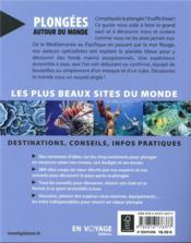 Plongées autour du monde (3e édition) - 4ème de couverture - Format classique