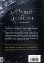Les brumes de Cendrelune t.1 ; le jardin des âmes - 4ème de couverture - Format classique