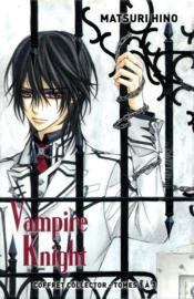 Vampire knight ; COFFRET T.1 A T.3 - 4ème de couverture - Format classique