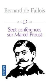 Sept conférences sur Marcel Proust - Couverture - Format classique