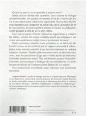 Invitation au vivant : repenser les Lumières à l'âge de l'anthropocène - 4ème de couverture - Format classique