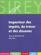 Inspecteur Des Impots, Du Tresor Et Des Douanes - Intérieur - Format classique