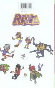 Rave t.22 - 4ème de couverture - Format classique