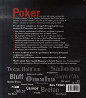 L'encyclopédie du poker - 4ème de couverture - Format classique