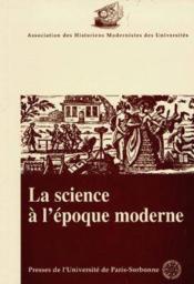Bulletin De L'Association Des Historiens Moderniste Des Universites: N. 21 La Science A L'Epoque Moderne - Couverture - Format classique
