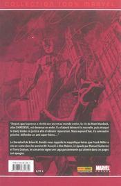 Daredevil t.6 ; le procès du siècle - 4ème de couverture - Format classique