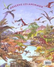 Observe les dinosaures et trouve l'intrus... - 4ème de couverture - Format classique