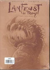 Lanfeust de Troy t.3 ; castel or-azur - 4ème de couverture - Format classique