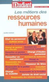 Metiers ressources humaines - Couverture - Format classique