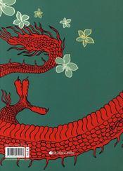 Le cabinet chinois - 4ème de couverture - Format classique