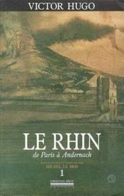 Le Rhin t.1 - Couverture - Format classique