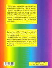 Pratique de la couleur ; prévention, harmonisation - 4ème de couverture - Format classique