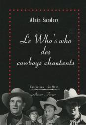 Le who's who des cowboys chantants - Couverture - Format classique