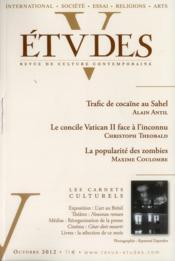 Revue Etudes Assas N.417/4 ; Octobre 2012 - Couverture - Format classique