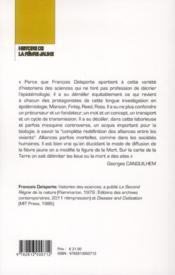 Histoire de la fièvre jaune - 4ème de couverture - Format classique