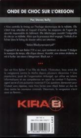 Kira t.1 ; onde de choc dans l'Orégon - 4ème de couverture - Format classique