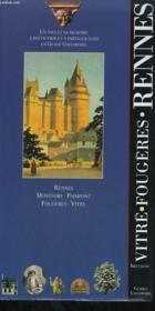 Bretagne. Vitre, Fougeres, Rennes. Collection : Guides Gallimard. - Couverture - Format classique