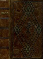 Missel, Christ Roi. - Couverture - Format classique