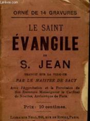 Le Saint Evangile - Couverture - Format classique