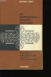 An International Reader'S Dictionary. - Couverture - Format classique