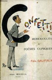 Confetti - Monologues Et Poesies Comiques. - Couverture - Format classique