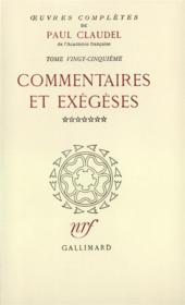 Oeuvres complètes t.25 - Couverture - Format classique