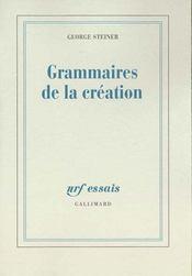 Grammaires De La Creation - Intérieur - Format classique