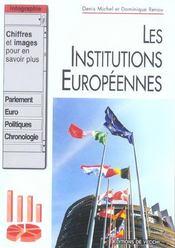 Les institutions européennes - Intérieur - Format classique