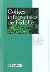 Colites infectieuses de l'adulte. - Intérieur - Format classique