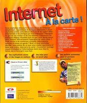 Internet A La Carte - 4ème de couverture - Format classique