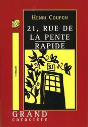 21 Rue De La Pente Rapide - Intérieur - Format classique
