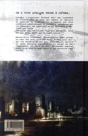 Fell t.1 ; snowtown - 4ème de couverture - Format classique
