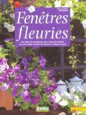 Fenetres fleuries - Couverture - Format classique